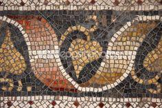 byzantine vine & leaf mosaic #byzantium