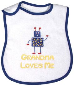 Perfect for ages 1 and up when they are starting to feed themselves. 100% cotton velour terry. www.RaindropsBaby.com. $15.00