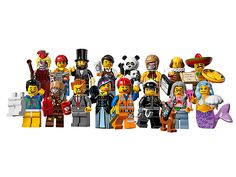 The LEGO Movie minifigure series. Comes out the 29th which means it may be at your local toy store now!