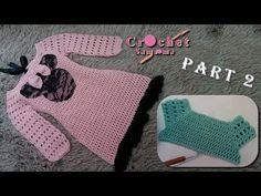 كروشيه فستان شتوي لاي مقاس ينفع ايضا اشتغاله كبلوزة -الجزء الثاني/ طريقة... Knitting For Kids, Crochet For Kids, Baby Knitting, Knit Crochet, Crochet Dress Girl, Crochet Baby Clothes, Baby Princess, Toddler Preschool, Baby Sweaters