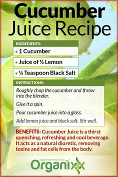 The Most Powerful Detox: Cucumber Water Detox Detox Juice Cleanse, Detox Diet Plan, Detox Drinks, Healthy Juice Recipes, Healthy Juices, Detox Recipes, Detox Foods, Cucumber Detox Water, Cucumber Juice