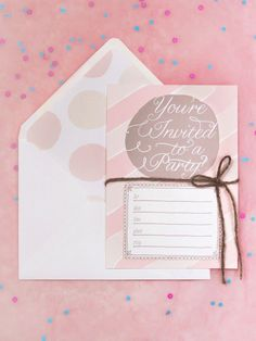 Free Downloadable Party Invite