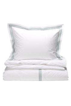 Ellos Home Koster-pussilakanasetti puuvillaperkaalia, 2 tai 3 osaa Bed Pillows, Pillow Cases, New Homes, Pillows