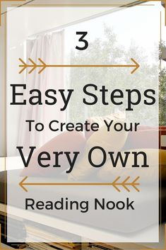 Create Your Own Reading Nook In 3 Easy Steps