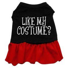 Like my costume? Screen Print Dress Black with Red XXXL (20)