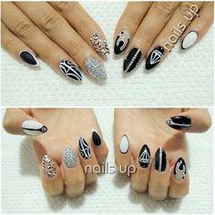DIY Nails Art : DIY Stiletto Nails