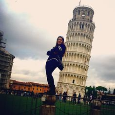 Oh ya know....just kickin' it real casual in Pisa. #studyabroad #italy #pisa #leaningtowerofpisa #travel #adventure #isaabroad by jax_6492