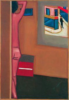 Jerzy Nowosielski, Pierwszy śnieg, 1964 r. DESA Unicum auction house, March 7, 2013