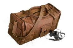 Gbag T Leather Duffel Bag Leather Overnight Travel Weekend Bag Leather Holdall Luggage Gym Sports bag * Click image to review more details. Note:It is Affiliate Link to Amazon.