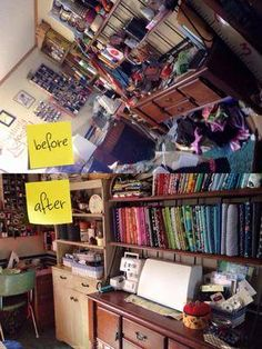 Here's how to declutter your craft room, with both instructions and pictures from other readers who've taken on this challenge for inspiration.