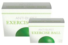 Exercise Balls - Althea Medical's product line, sold at Costco stores, was created to be clean and eye catching.
