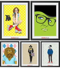 'The Wizard Of Oz' Characters Reimagined As Hipsters - DesignTAXI.com