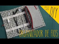 DIY ::: Organizador de Fios - By Fê Atelier - YouTube