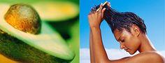 El aguacate, nuestro gran protagonista, tiene grandes propiedades nutritivas, debido a su alto contenido vitamínico, mineral y agua (por lo tanto también actúa como hidratante). En el aguacate encontramos vitaminas A, B6, C y E. Su valor desde el punto de vista cosmético deriva fundamentalmente a su gran poder antioxidante y reparador.http://surtimoscosmeticos.blogspot.com/2013/03/mascarilla-casera-para-el-cabello-seco.html