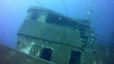 Scuba diving at El Penon wreck, Tabaiba @ Tenerife