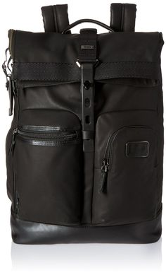 Tumi Alpha Bravo Luke Roll-top Multipurpose Backpack *** Trust me, this is great! Click the image. : Backpacking bags