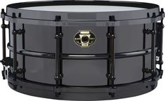 Ludwig Black Magic Snare Drum - 6.5x14 Inch, Black Nickel