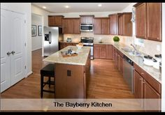 Bayberry kitchen at Plantation lakes by Lennar