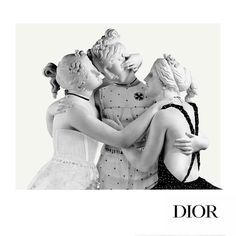 "DIOR, Paris, France, ""The Three Graces"", (for Maria Grazia Chiuri's Spring/Summer), creative by Nicola Bortoli, pinned by Ton van der Veer"