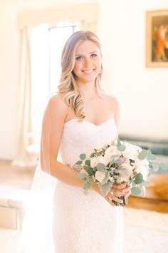 Romantic Winter Wedding for College Sweethearts