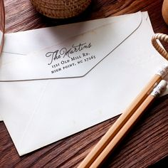 Custom Address Stamp  Self-Inking Address Stamp by cardcandydotcom