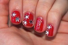 Kelsie's Nail Files: 12 Days of Christmas Nail Art Challenge: Christmas Decorations (bps product review)