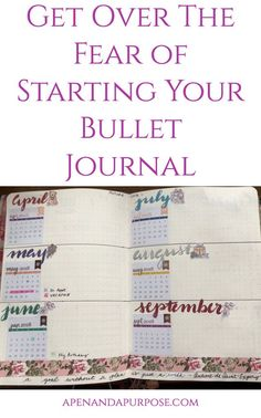 You bought a bullet journal but haven't been able to start it? You have so much fear that you you will mess it up somehow. Let's get you over that fear so you can benefit from this awesome method of planning and journaling. #bulletjournal #bujo