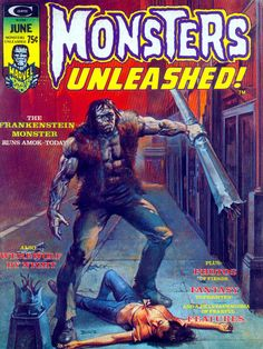 Monsters Unleashed #6 by derrickthebarbaric on DeviantArt