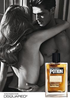 Diego Miguel Evokes Carnal Desires for Dsquared²s Potion Fragrance Campaign by Mario Sorrenti