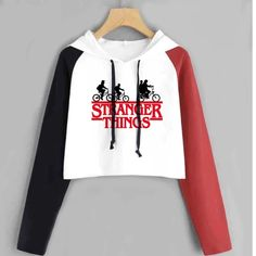 Stranger Things Cropped Hoodies Women Print Hip Hop Short Sweatshirt - Stranger Things Cropped Hoodies Women Print Hip Hop Short Sweatshirt – GaGodeal Source by gagodeal - Stranger Things Merchandise, Stranger Things Hoodie, Stranger Things Clothing, Stranger Things Stuff, Teen Fashion Outfits, Outfits For Teens, Tomboy Outfits, Fashion Dresses, Cute Lazy Outfits