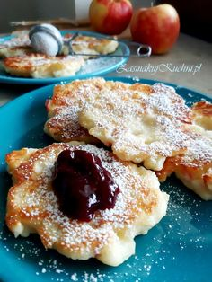 Kitchen Recipes, Catering, Pancakes, French Toast, Good Food, Sugar, Bread, Meals, Cookies
