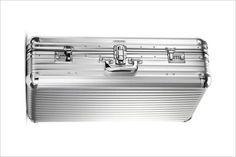 RIMOWA 1950's Reproduction Aluminum Luggage Case