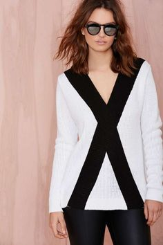 Girls Club Sweater | Shop Cyber Monday at Nasty Gal