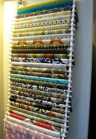 Fabric storage solutions diy sewing rooms 63 Ideas for 2019 Sewing Room Organization, Craft Room Storage, Fabric Storage, Storage Ideas, Organizing Ideas, Craft Rooms, Fabric Organizer, Diy Storage, Storage Solutions