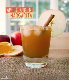 Delicious+Apple+Cider+Margarita+Made+at+Home