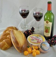 Realistic Fake Replica Grouping of Red Wine and Food! -- Read more reviews of the product by visiting the link on the image.
