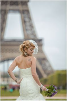 Paris bride | Planning by Wedding Luxe, image by Gabi Alves Photography