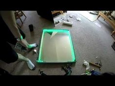 How to make an Infinity Mirror - Tips and Tutorial - YouTube