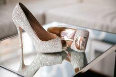 Twinkling Philadelphia Wedding at the Cira Centre Atrium from Emily Wren Photography - MODwedding