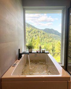 Bathtub, Bathroom, Interior, Instagram, Home, Standing Bath, Washroom, Bathtubs, Indoor