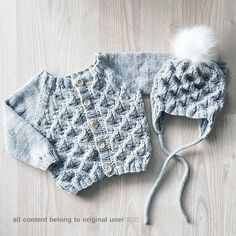 Free Knitting Patterns and Projects, How To Knit Guides 2019 ! free knitting patterns for babies; free knitting patterns for women; free knitting patterns for blankets Free Baby Sweater Knitting Patterns, Knitting For Kids, Easy Knitting, Baby Patterns, Baby Pullover Muster, Knitting Basics, Baby Sweaters, Burp Cloths, Projects