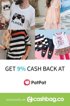Stay on trend as a mom or a family when shopping at PatPat. Also, activate your 9% cash back! #family #moms #love (Offer available in the following country: United States) Deal Sites, United States, Mom, Country, Shopping, Fashion, Moda, Rural Area, La Mode