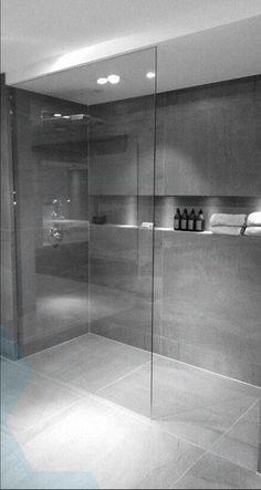 modern bathroom ideas with minimalist design # Badideen ., bathroom ideas modern bathroom ideas with minimalist design # Badideen . Modern Home Interior Design, Modern Bathroom Design, Bathroom Interior Design, Bathroom Designs, Shower Designs, Modern Design, Interior Decorating, Interior Livingroom, Interior Ideas