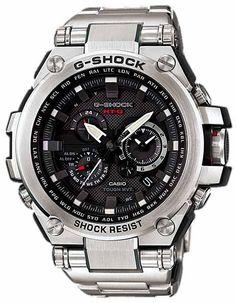c20667fad6e Casio G-Shock Solar Triple-G Atomic Watch - Black Dial - Stainless Steel