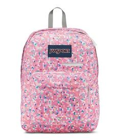 cd13b56b2e15 LOVE this Jansport Digibreak Laptop Backpack in  Confetti.  This backpack  features a large main compartment with an internal sleeve for carrying a  laptop.