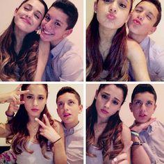 Ariana Grande met Lohanthonyyy