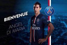 Rêvons plus grand : Angel di Maria avec le maillot du PSG (avant goût) - http://www.actusports.fr/113238/revons-grand-angel-di-maria-maillot-du-psg-gout/