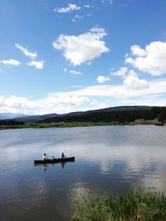 Where to canoe in Woodland Park Colorado