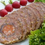 Mäsová roláda v závoji