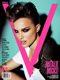 Natalie Portman for V Magazine Winter Photographed by Mario Testino, makeup by Charlotte Tilbury, styled by Clare Richardson, hair styled by Marc Lopez. V Magazine, Fashion Magazine Cover, Fashion Cover, Magazine Cover Design, Magazine Layouts, Magazine Photos, Magazine Spreads, Natalie Portman, Mario Testino